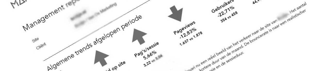 Van Os Marketing - Google Analytics-management report